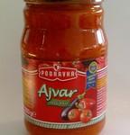 Slavische mild pittige saus Ajvar
